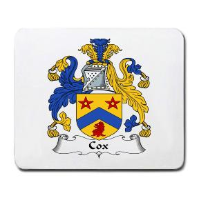 Cox Coat of Arms Mouse Pad