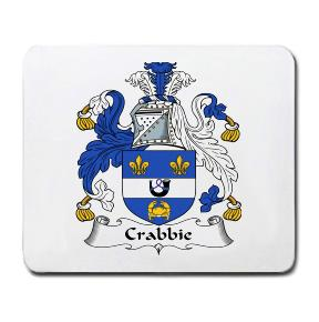 Crabbie Coat of Arms Mouse Pad
