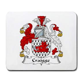 Craigge Coat of Arms Mouse Pad