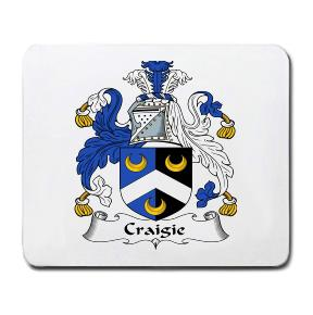 Craigie Coat of Arms Mouse Pad