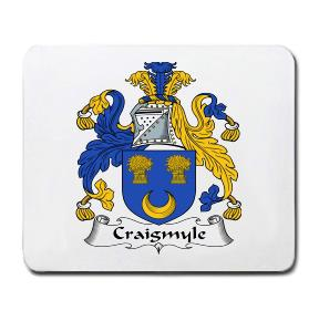 Craigmyle Coat of Arms Mouse Pad