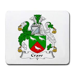 Craw Coat of Arms Mouse Pad
