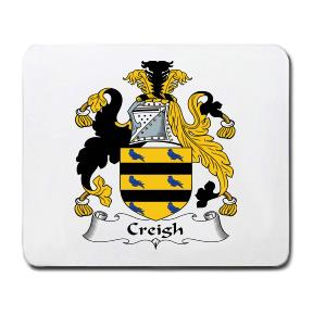 Creigh Coat of Arms Mouse Pad