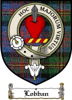 Lobban Clan Badge / Tartan FREE preview