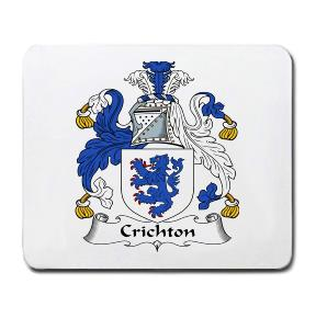 Crichton Coat of Arms Mouse Pad