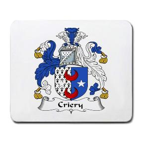 Criery Coat of Arms Mouse Pad