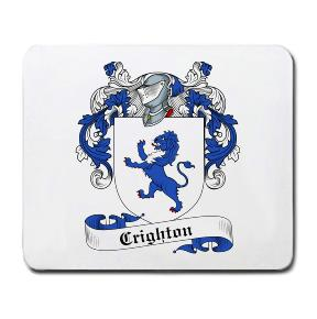 Crighton Coat of Arms Mouse Pad