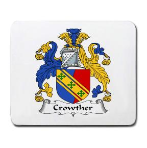 Crowther Coat of Arms Mouse Pad