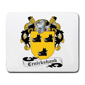Cruickshank Coat of Arms Mouse Pad