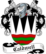 Caldwell Family Crest / Caldwell Coat of Arms JPG Download