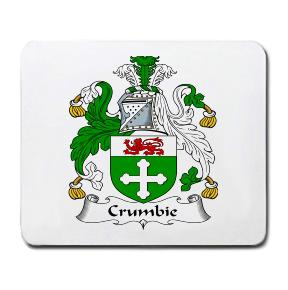 Crumbie Coat of Arms Mouse Pad