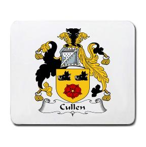 Cullen Coat of Arms Mouse Pad
