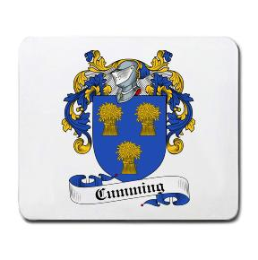 Cumming Coat of Arms Mouse Pad