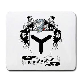 Cunningham Coat of Arms Mouse Pad
