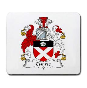 Currie Coat of Arms Mouse Pad