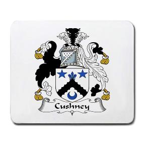 Cushney Coat of Arms Mouse Pad