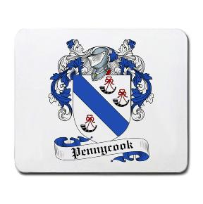 Pennycook Coat of Arms Mouse Pad