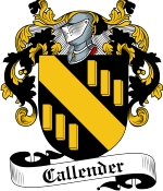 Callender Family Crest / Callender Coat of Arms JPG Download