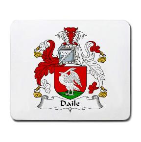 Daile Coat of Arms Mouse Pad