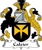 Calzier Family Crest / Calzier Coat of Arms JPG Download