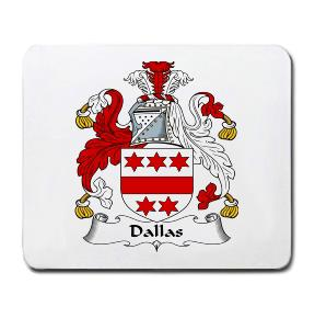 Dallas Coat of Arms Mouse Pad