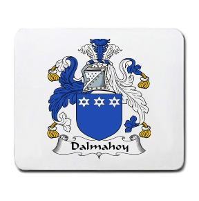 Dalmahoy Coat of Arms Mouse Pad