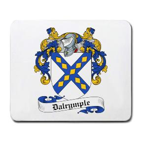 Dalrymple Coat of Arms Mouse Pad