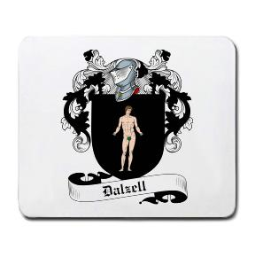 Dalzell Coat of Arms Mouse Pad
