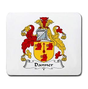Danner Coat of Arms Mouse Pad