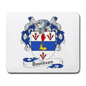 Davidson Coat of Arms Mouse Pad