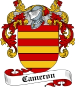 Cameron Family Crest / Cameron Coat of Arms JPG Download