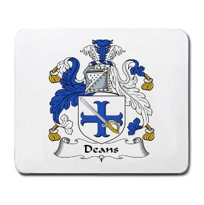 Deans Coat of Arms Mouse Pad