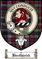 Borthwick Clan Badge / Tartan FREE preview