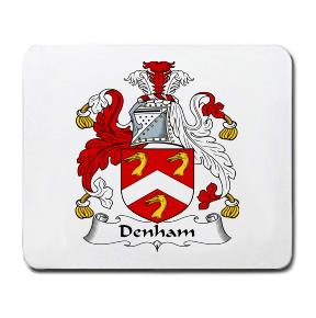 Denham Coat of Arms Mouse Pad