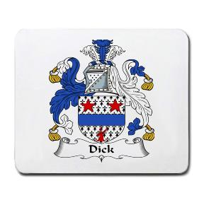 Dick Coat of Arms Mouse Pad