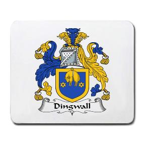 Dingwall Coat of Arms Mouse Pad