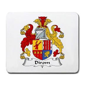 Dirom Coat of Arms Mouse Pad