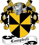 Campbell Family Crest / Campbell Coat of Arms JPG Download