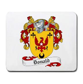 Donald Coat of Arms Mouse Pad