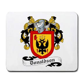 Donaldson Coat of Arms Mouse Pad