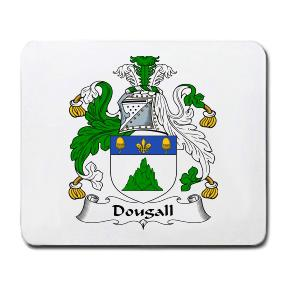 Dougall Coat of Arms Mouse Pad