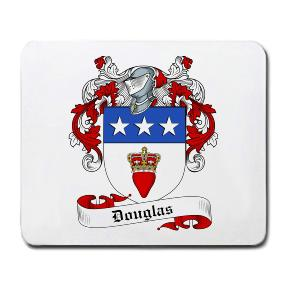 Douglas Coat of Arms Mouse Pad