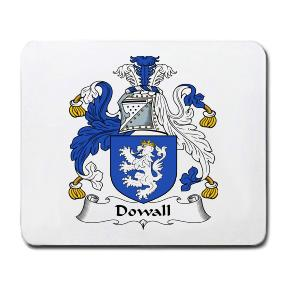 Dowall Coat of Arms Mouse Pad
