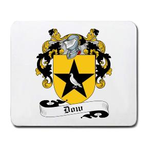 Dow Coat of Arms Mouse Pad