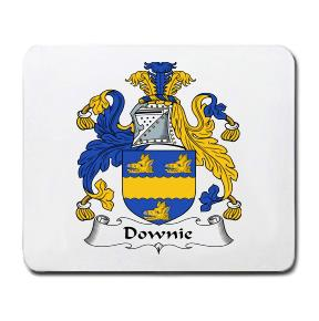 Downie Coat of Arms Mouse Pad