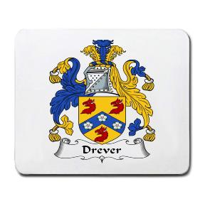 Drever Coat of Arms Mouse Pad