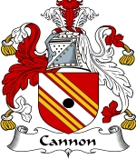 Cannon Family Crest / Cannon Coat of Arms JPG Download