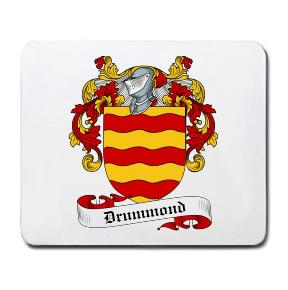 Drummond Coat of Arms Mouse Pad