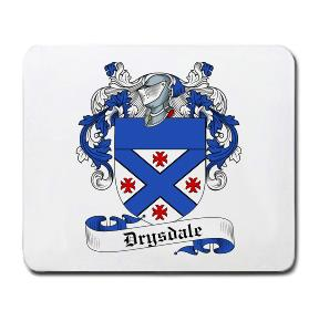 Drysdale Coat of Arms Mouse Pad