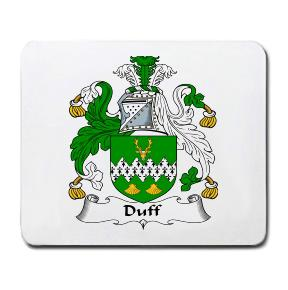 Duff Coat of Arms Mouse Pad
